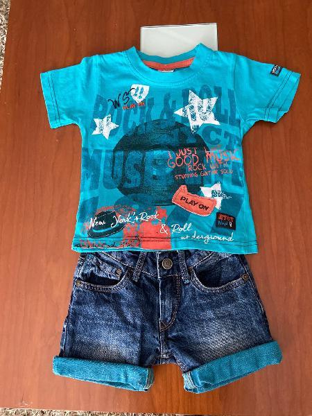 Conjunto ropa niño 2 años / 92 cms