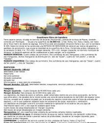 En venta dos gasolineras