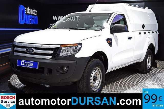 Ford ranger 2.2 tdci 150cv 4x4 cabina sencilla xl '15
