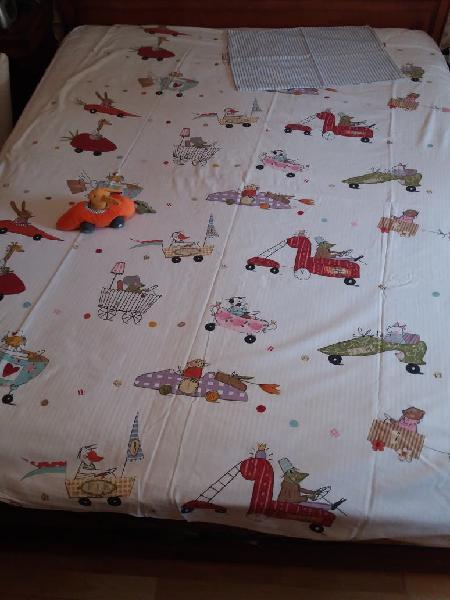 Funda nórdica infantil cama 90 con peluche