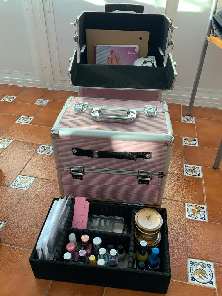 Kit manicura y pedicura maletín