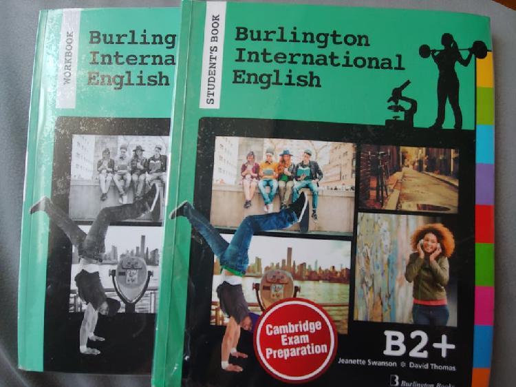 Libros burlington international english b2+