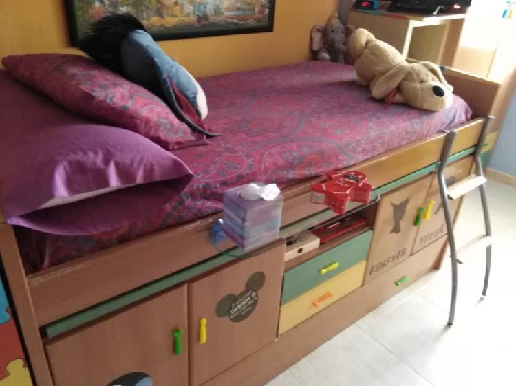 Mueble compacto juvenil