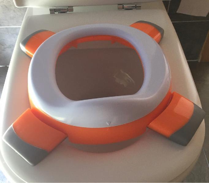 Orinal de viaje y reductor de asiento handy potty