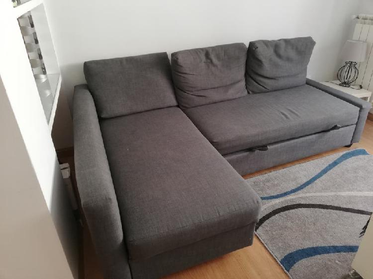 Sofa cama ikea gris