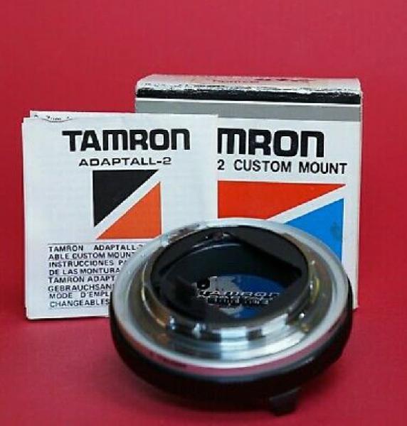 Tamron adapt-2 custom mount para minolta