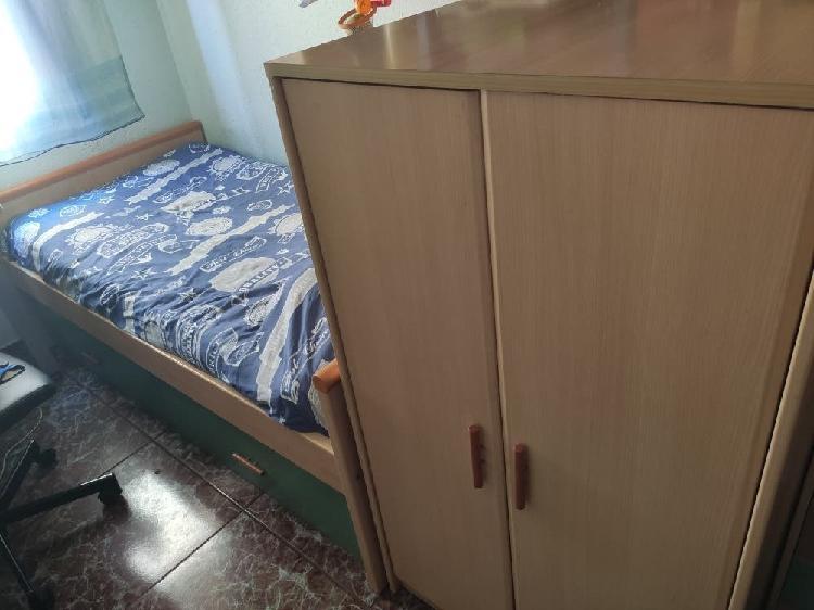 Cama con armario