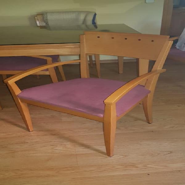 Conjunto mesa comedor + 4 sillas