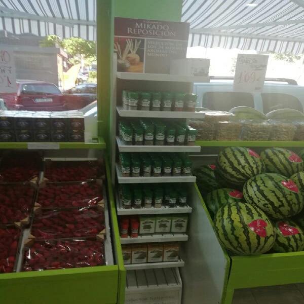 Traspaso de tienda de frutas y alimentacion