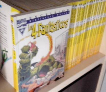 4 fantásticos biblioteca marvel