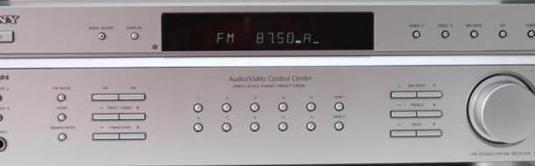Amplificador sony altavoces mission