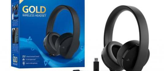 Auriculares inalambricos sony gold 7.1