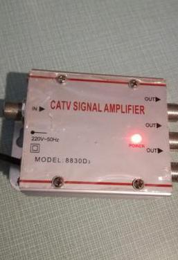 Catv amplificador de señal.