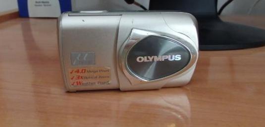 Cámara olympus mju 410