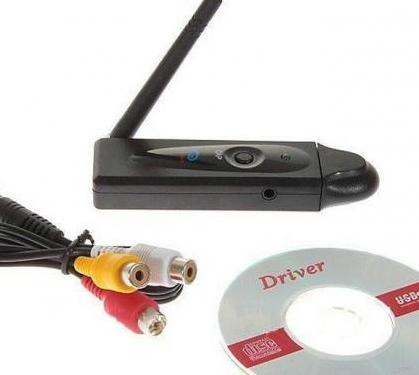 Capturador grabador mini de 4 canales 2.4g usb dvr