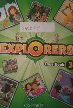 Class book 3 explorers
