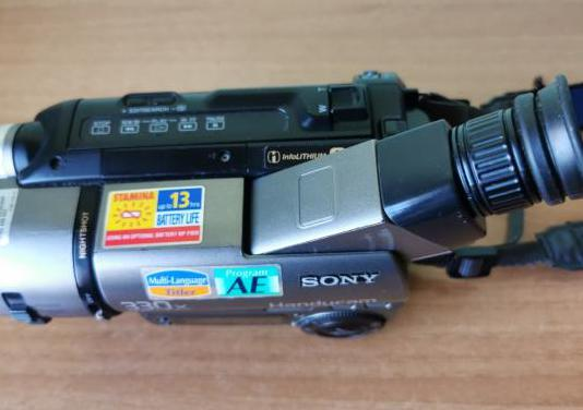 Cámara video sony handycam