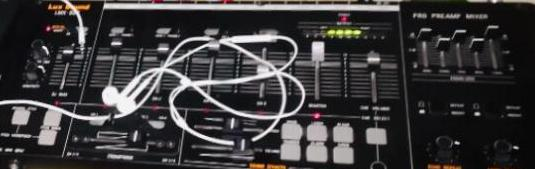 Dj pro mixer