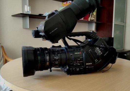 Equipo de cámara sony xdcam ex3
