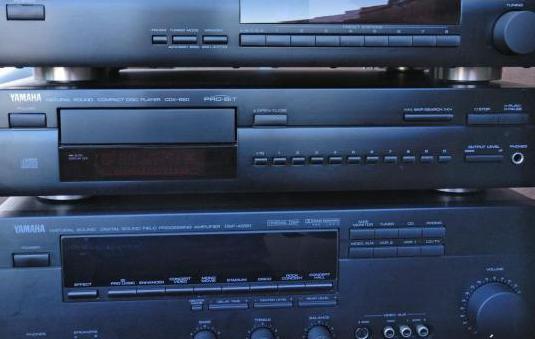 Equipo sonido yamaha (ampli cd sintonizador)