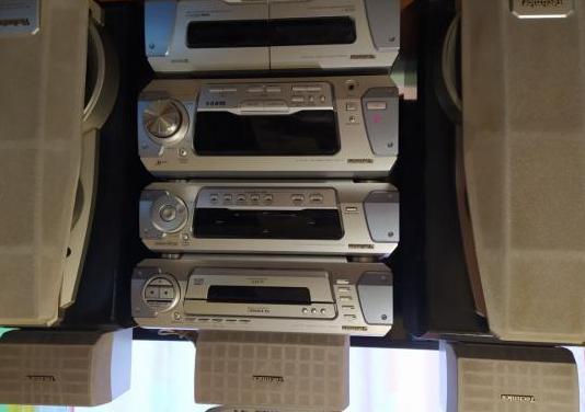 Equipo de sonido hi-fi minicadena technics