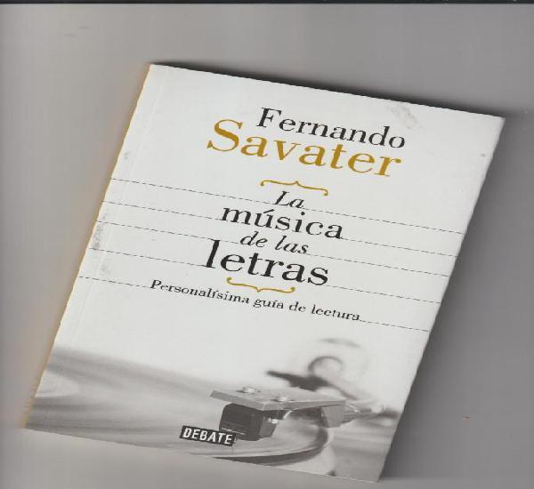 Fernando savater - la música de las letras - debate
