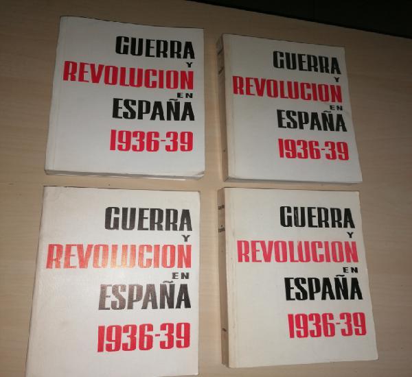 Guerra y revolución en españa 1936-39 - editorial progreso