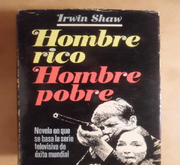 Hombre rico hombre pobre - irwin shaw - plaza & janes - 1980