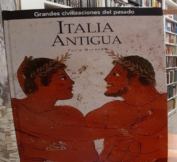 Italia antigua - durand, furio