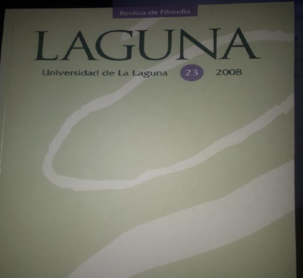 Laguna revista de filosofía 23 2008