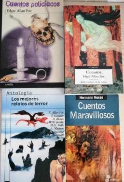 Lote 4 libros de terror