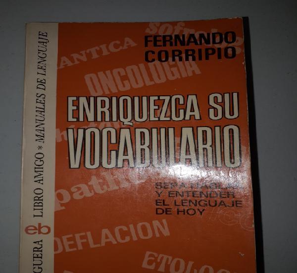 Libro enriquezca su vocabulario