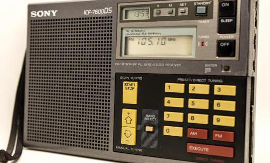 Multibandas sony icf-7600ds