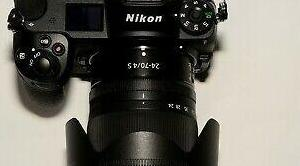 Nikon z6 kit 24-70mm f4 y extras