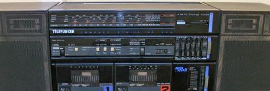 Radio cassette telefunken hp 204