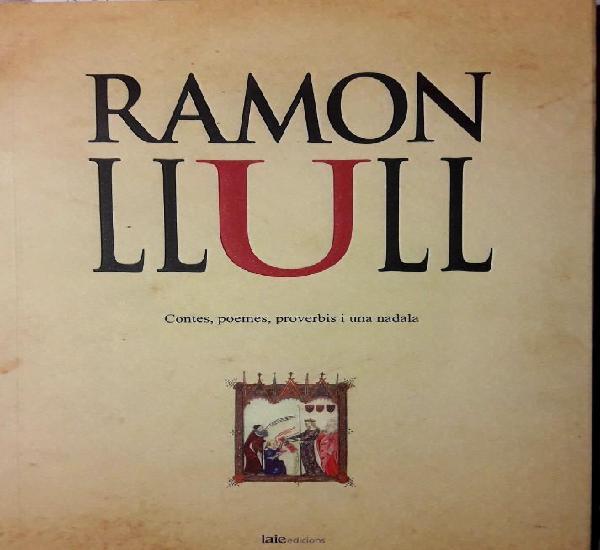 Ramon llull. contes, poemes, proverbis. plaquette. ejemplar