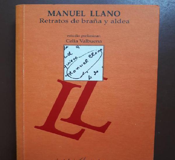 Retratos de braña y aldea - manuel llano - universidad de