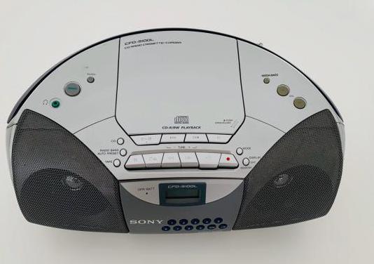 Sony equipo musica portatil pilas sin wifi