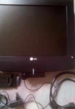 Televisión lg 15 pulgadas pantalla lcd