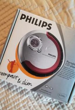 Vendido - philips - reproductor de cd