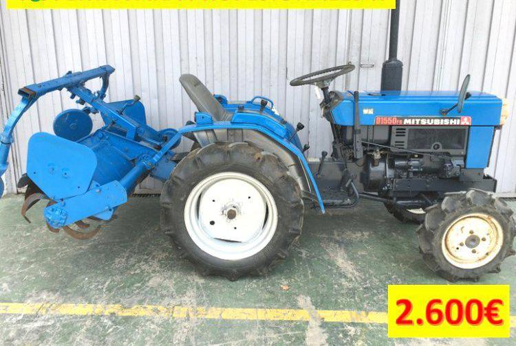 Venta de mini tractor mitsubishi d1550fd en valencia