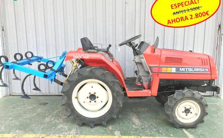Venta de mini tractor mitsubishi m16d en valencia
