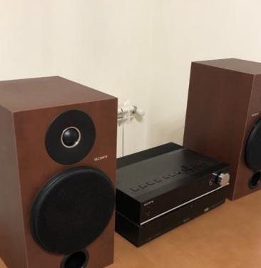 Micro cadena sonido sony