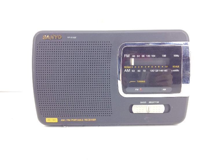 Radio portatil sanyo rf-6165f