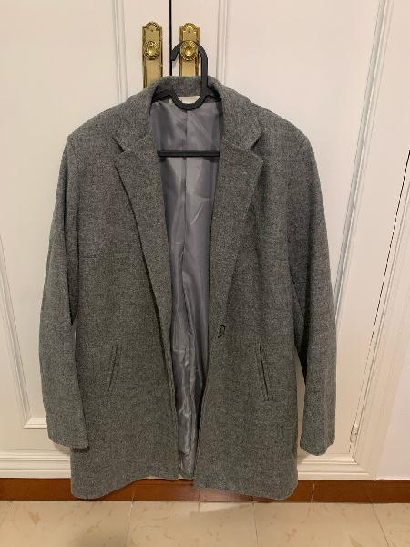 Abrigo 3/4 shana talla m gris