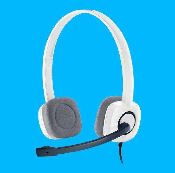 Auriculares logitech estéreo con micrófono h150
