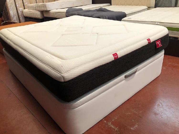 Canapé+colchón lattoflex visco 150x190