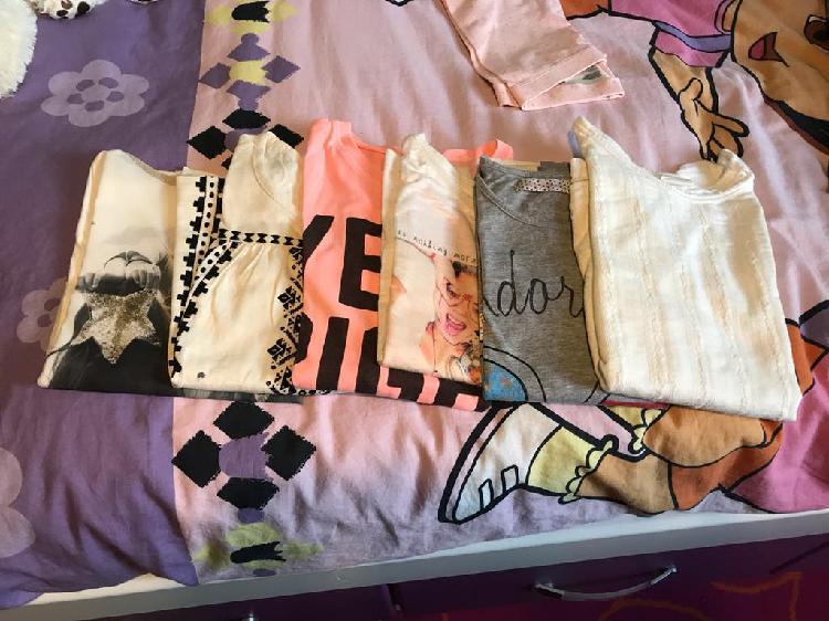 Camisas y camisetas niña