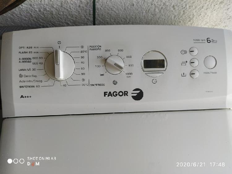 Lavadora carga superior 6.5kg