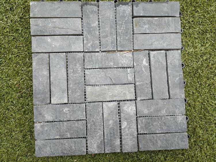 Losetas de pizarra 30 x 30 cms (caja de 5 losetas)